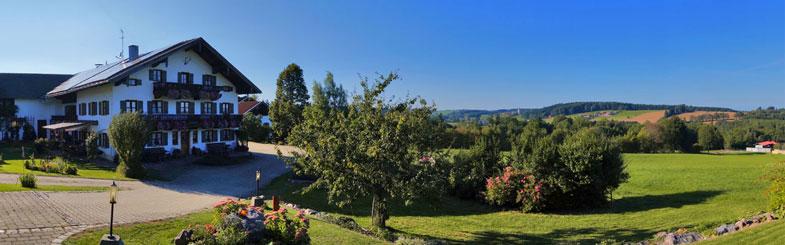 Der Sträublhof im Sommer
